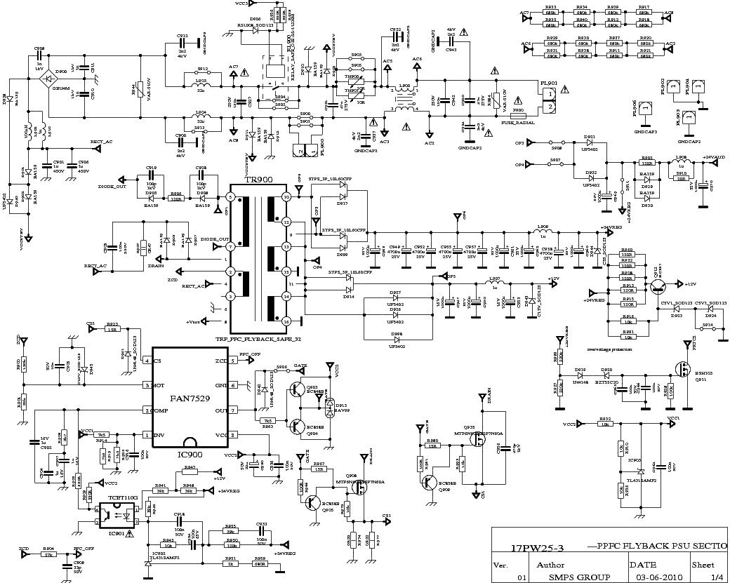 VESTEL 17PW25-3 service manual (1st page)