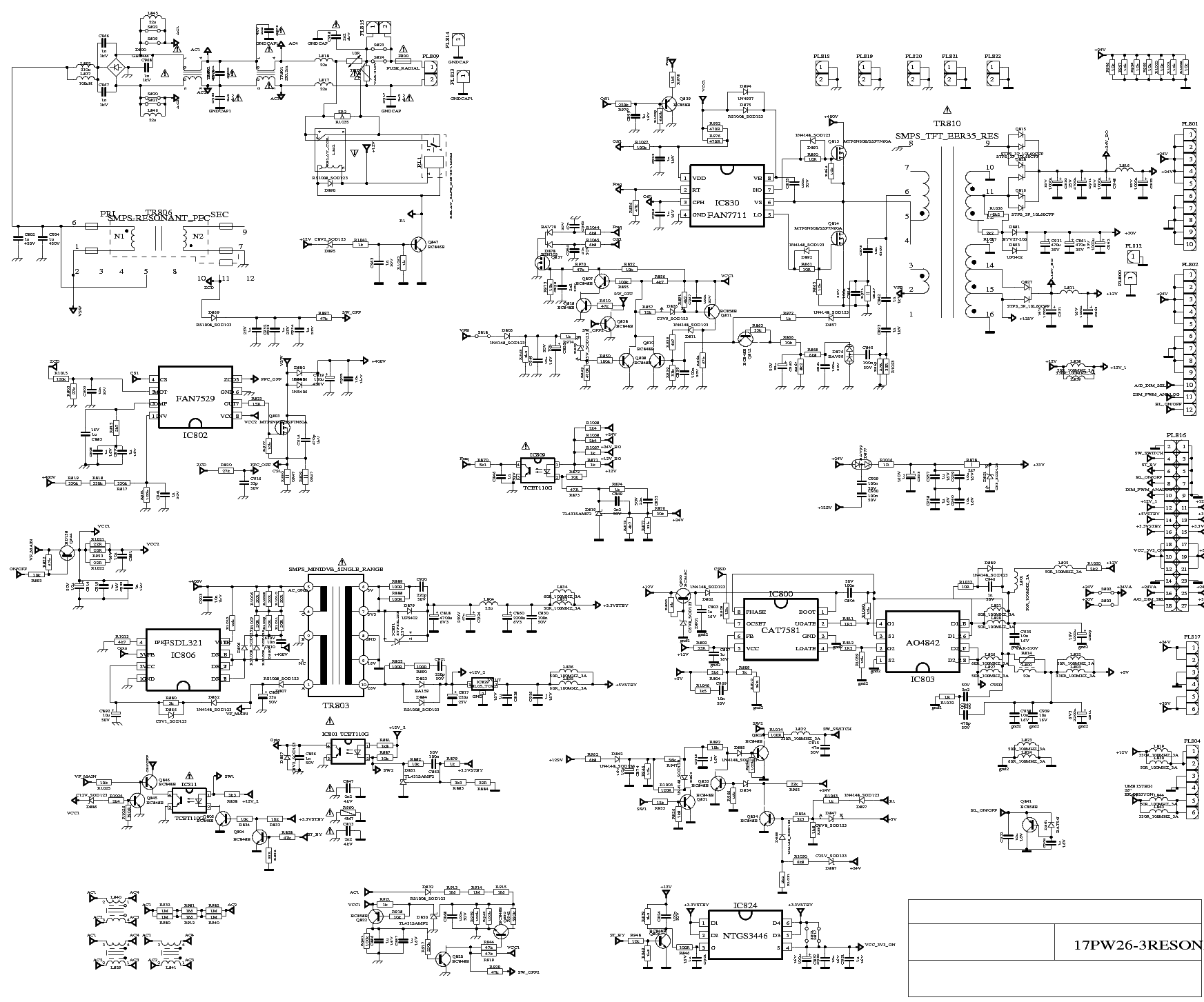 VESTEL 17PW26-3 service manual (1st page)