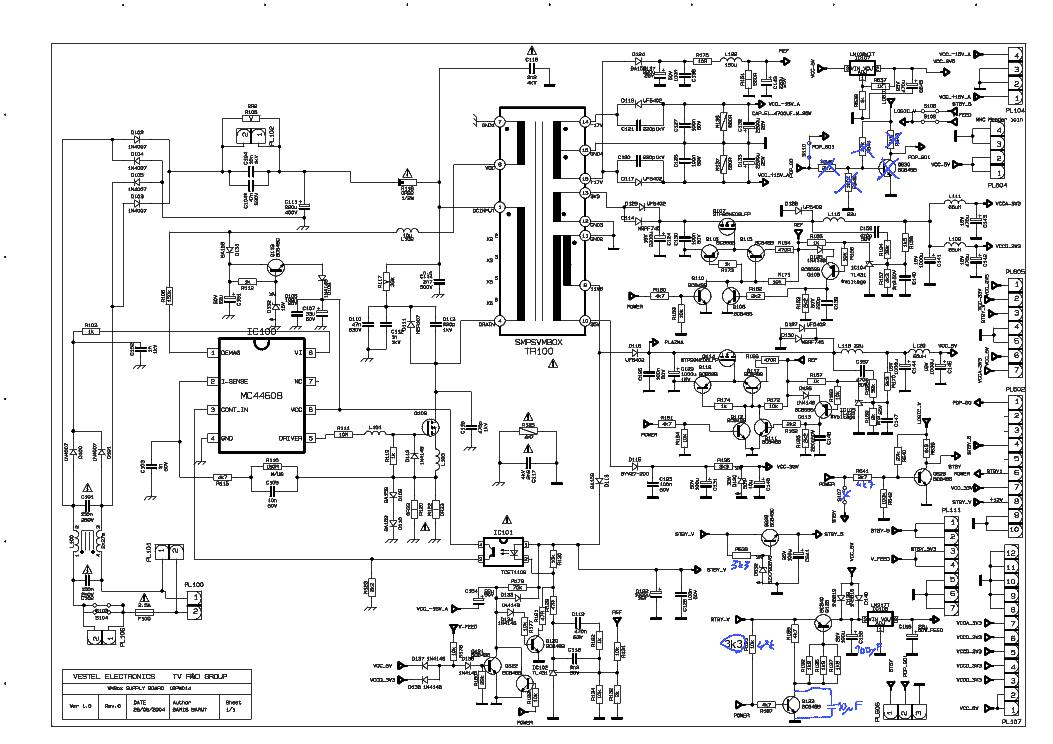 vestel 17pw25 4 power supply sch service manual download schematics rh elektrotanya com Series Circuit Diagram Diagram Electrical Circuit