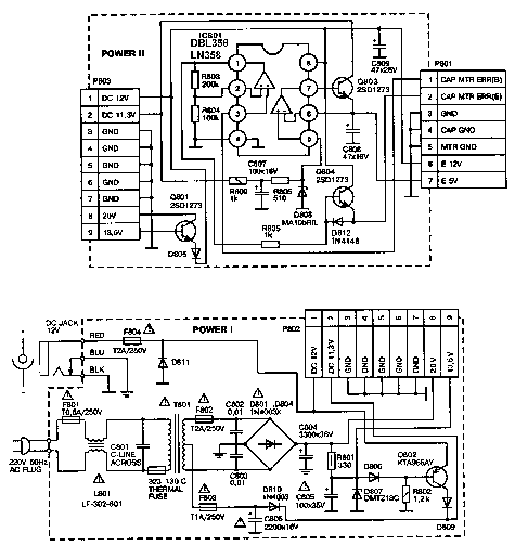daewoo fel 3226h power supply service manual download  schematics  eeprom  repair info for