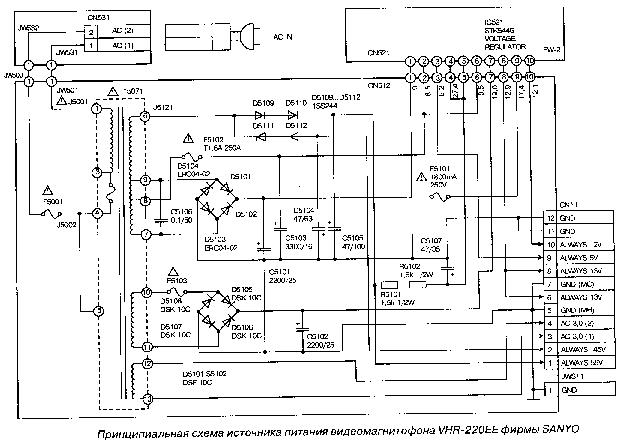 sanyo cem2130 power