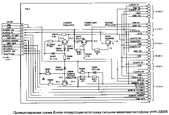 Sanyo Tv Power Supply Schematics on jvc replacement parts