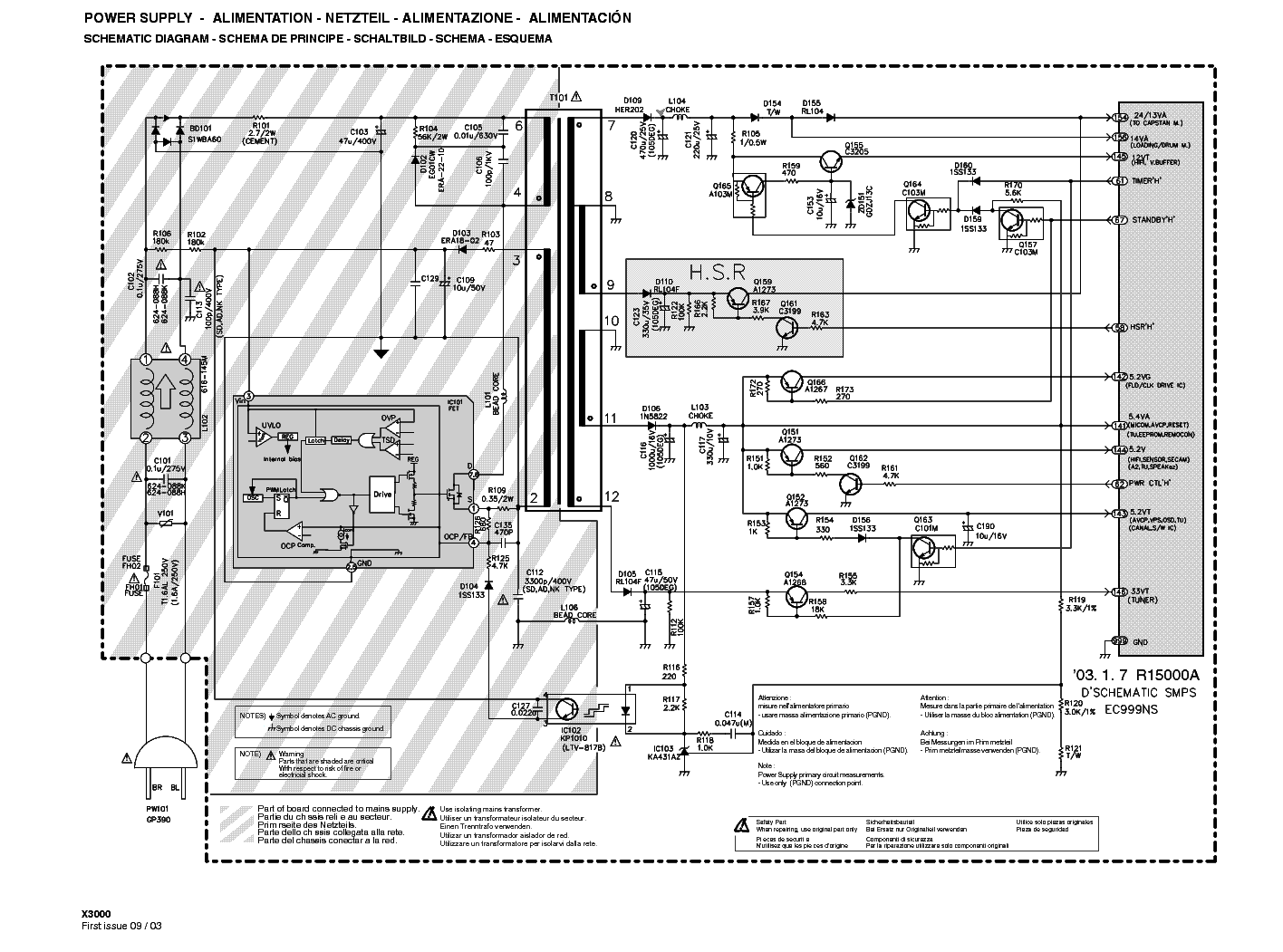 Outstanding Smps Power Supply Schematic Frieze - Wiring Standart ...