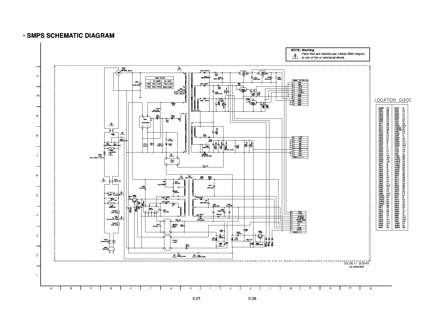 Wonderful Smps Service Manual Ideas - Simple Wiring Diagram Images ...