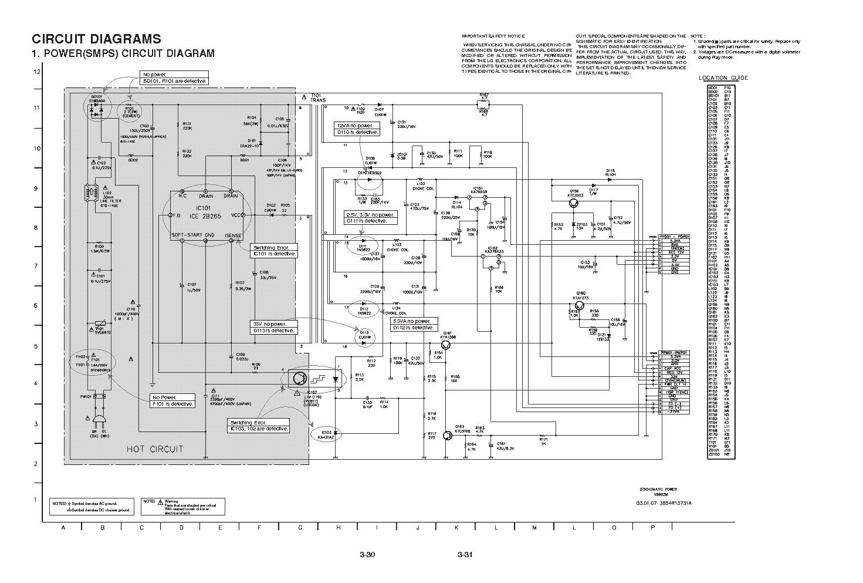 LG V782NWK DVD VHS service manual (1st page)