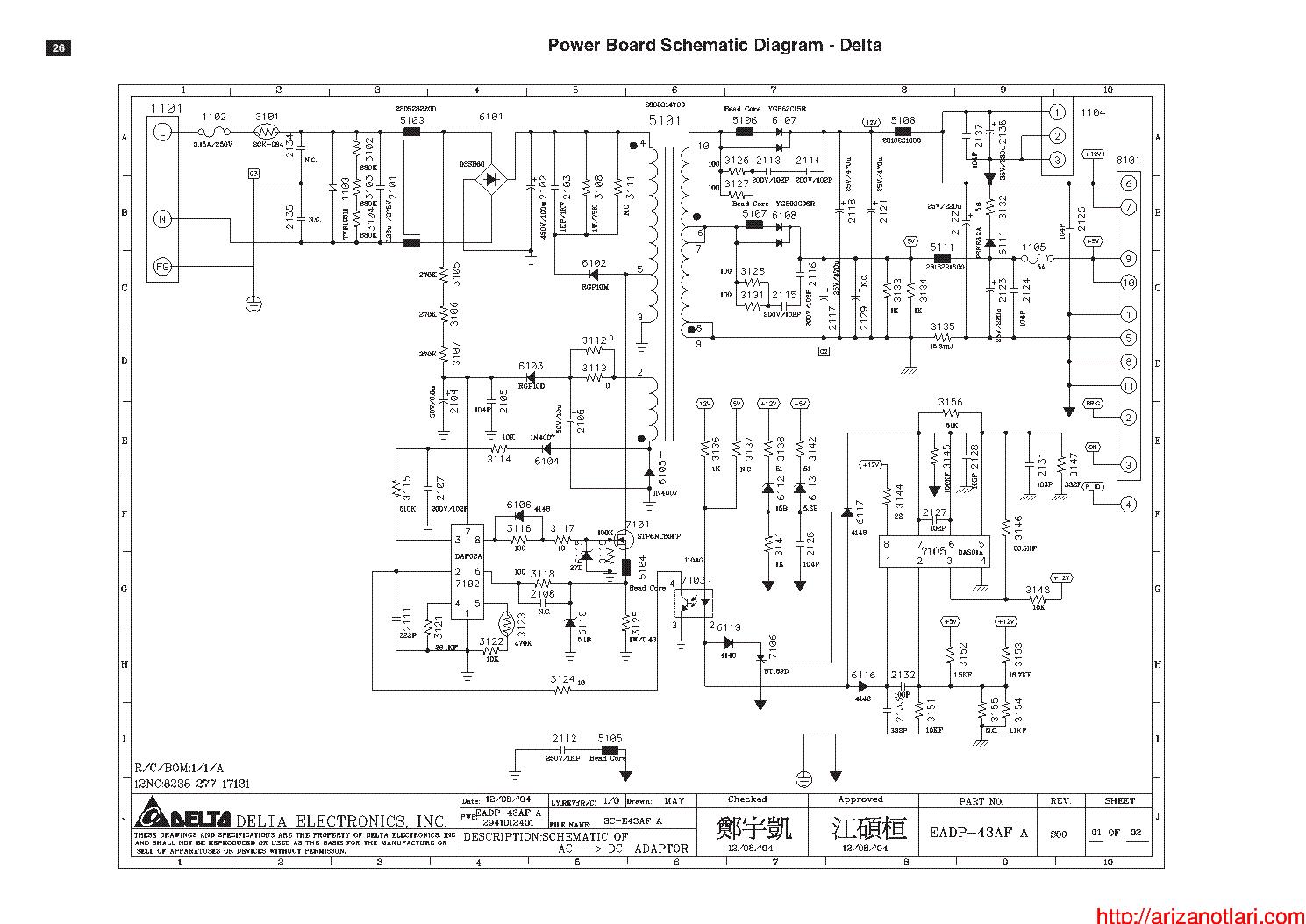 Delta Power Supply Schematic Diagrams Atx Tyxyke5739s Soup Diagram Diy Enthusiasts Wiring U2022 300w