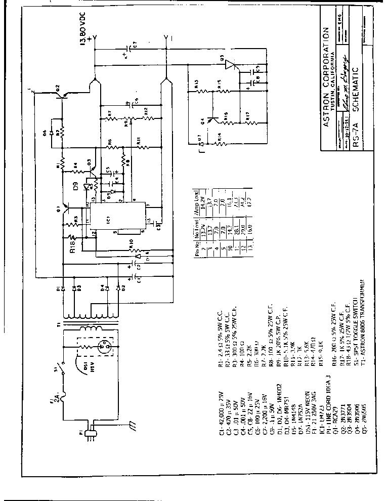 astron rs 35m schematic  | metaldownload…