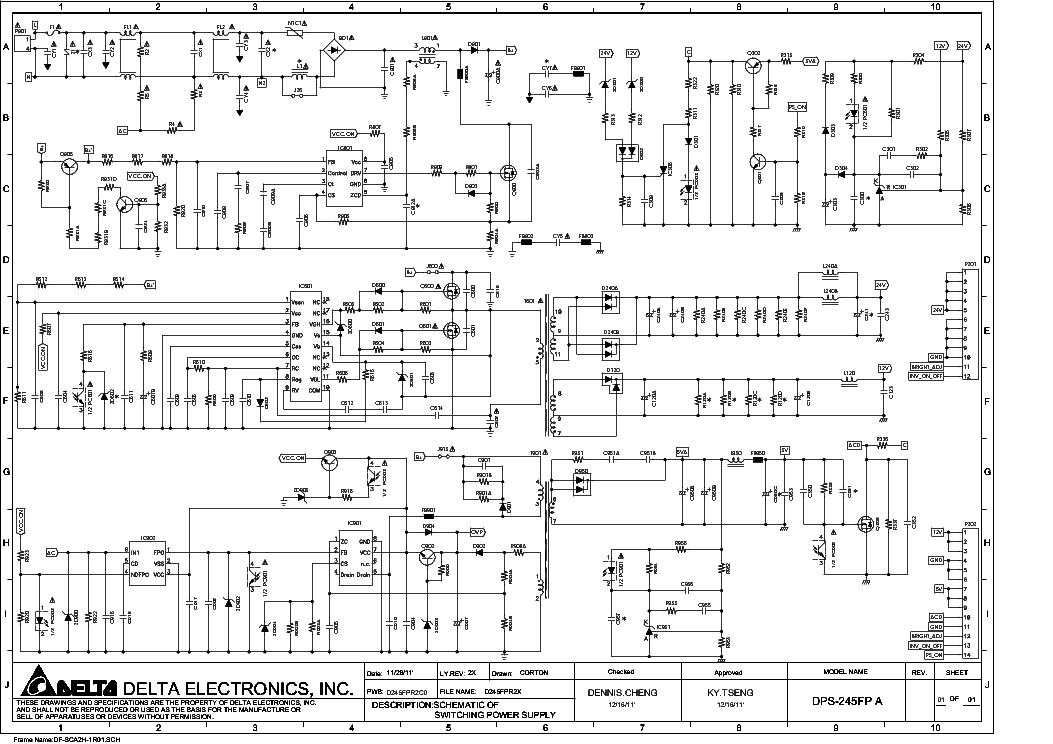 Beste 480 Delta Schaltplan Zeitgenössisch - Elektrische Schaltplan ...