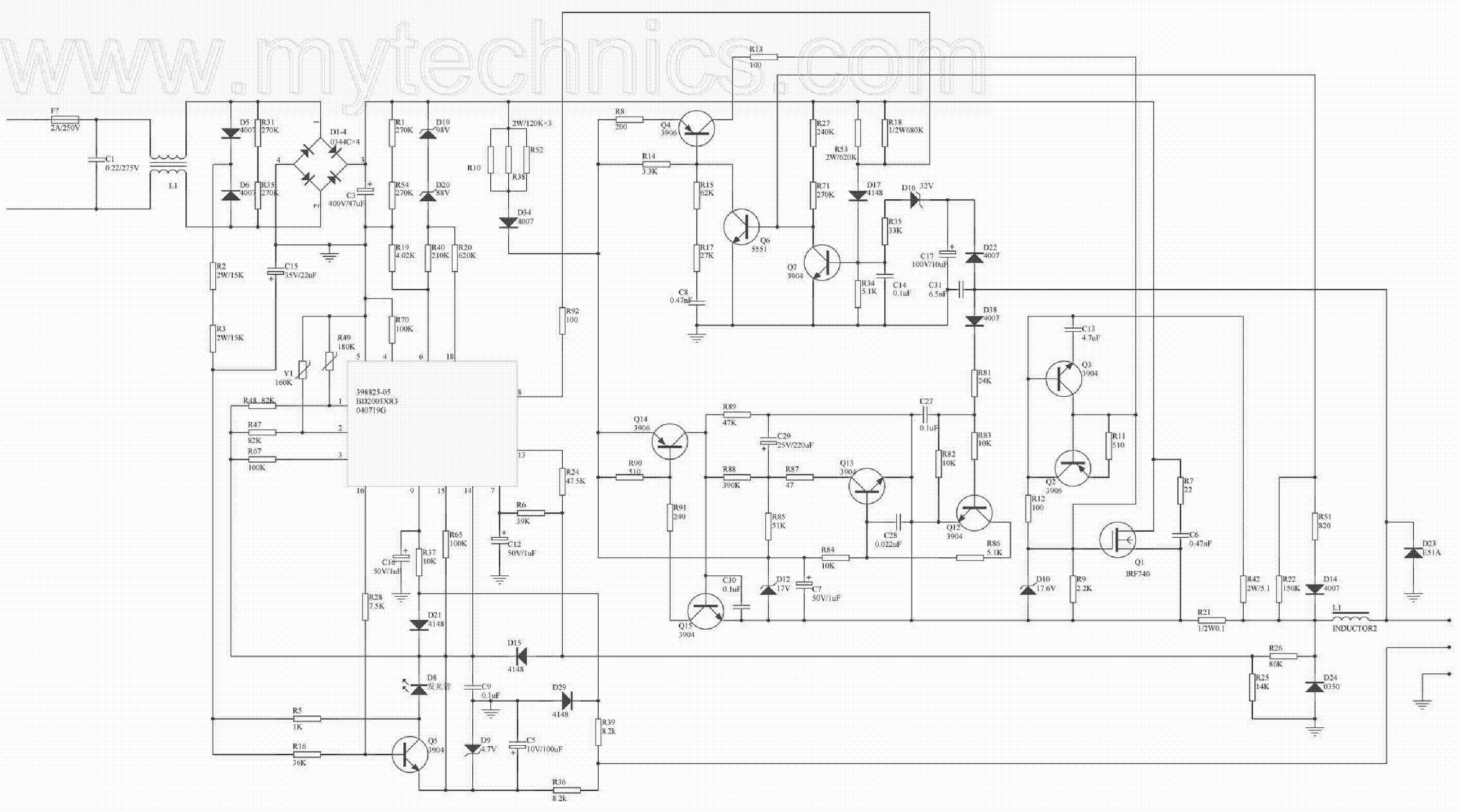 Dewalt De9116 Power Supply Service Manual Download, Schematics De Walt  Warranty De Walt Schematics