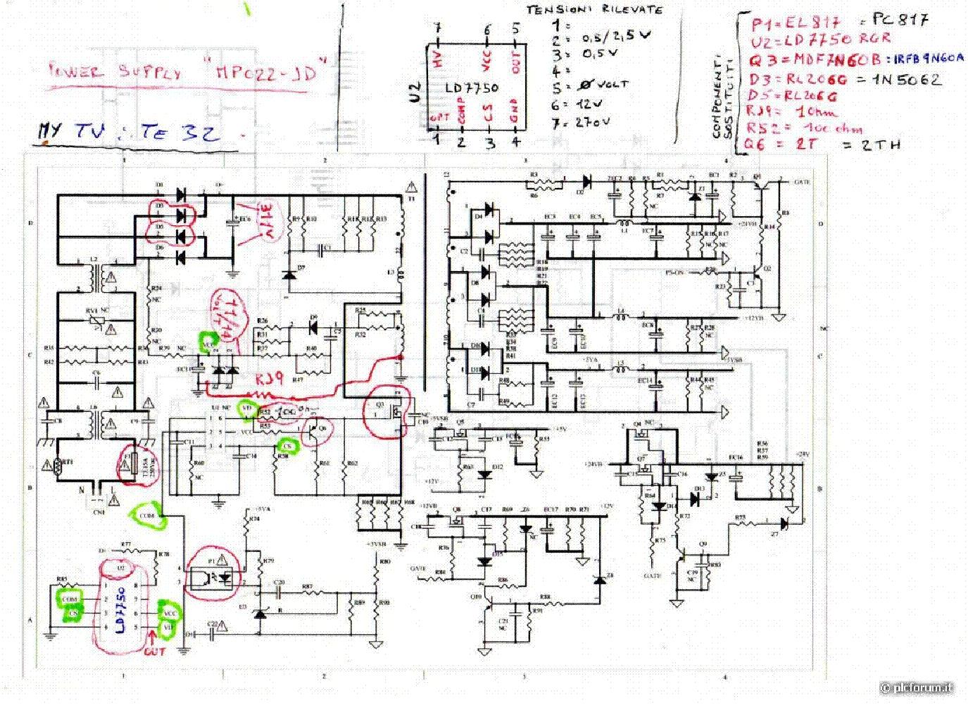 Megmeet Mp113 Led Power Supply Service Manual Download Schematics Block Diagram Free Wiring Schematic