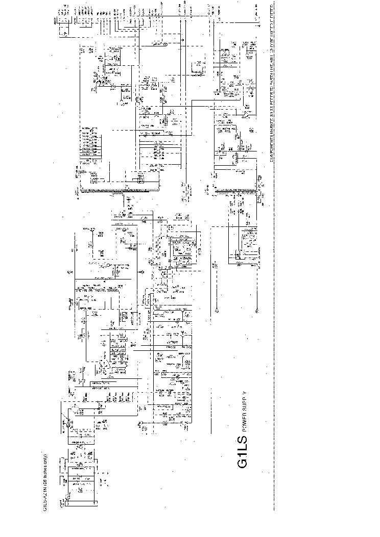 Power Supply G1ls Az1n Sch Service Manual Download Schematics