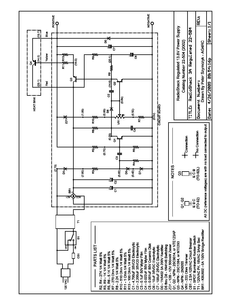 Radio Shack Model 22