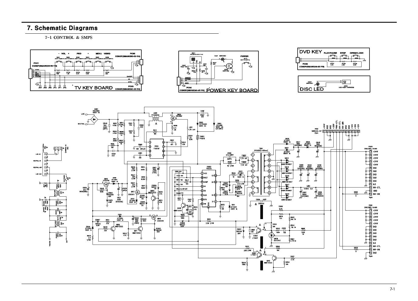 Viewsonic Fsp228 3f01 Power Supply Sch Service Manual Download  Schematics  Eeprom  Repair Info