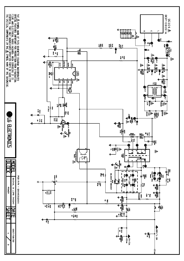 lg eax64905401 eay62810601 led tv power supply service manual download  schematics  eeprom