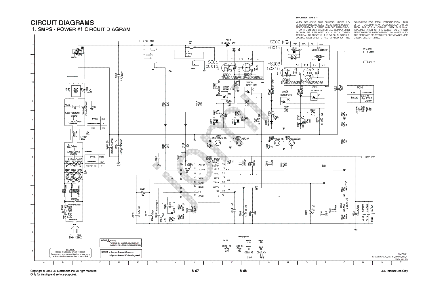 lg eax65367301 cm8340 psu sch service manual download  schematics  eeprom  repair info for