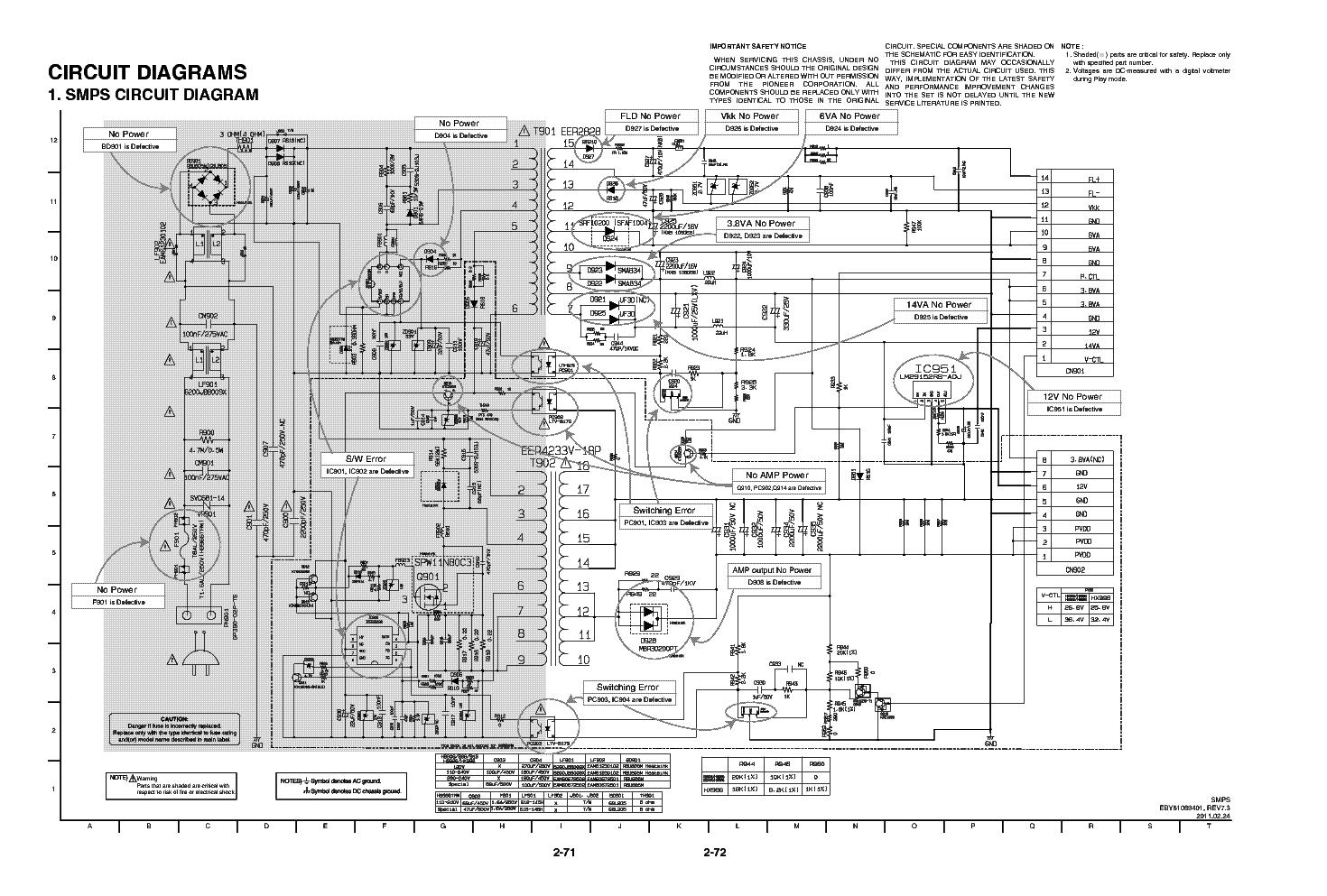 Outstanding Smps Circuit Diagram Repair Sketch - Wiring Standart ...