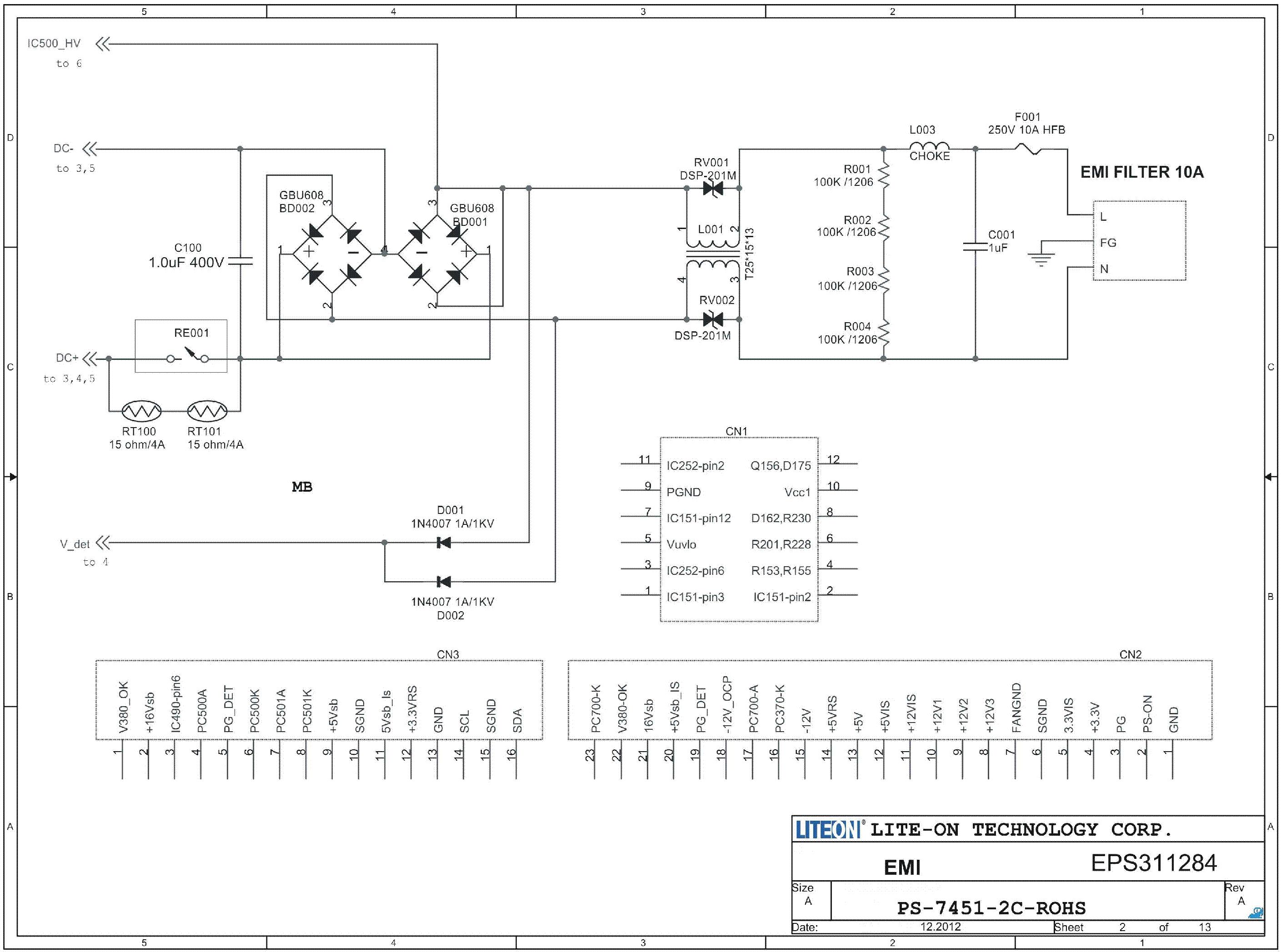 Liteon Ps-5301-08Ha Wiring Diagram from elektrotanya.com