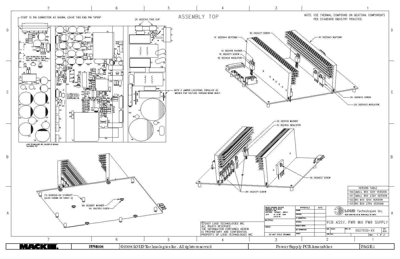 audio mixer schematic diagrams