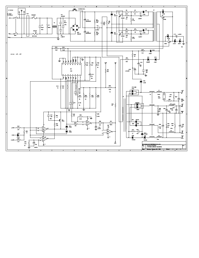 dtk ptp2038 pc power supply sch service manual download  schematics  eeprom  repair info for
