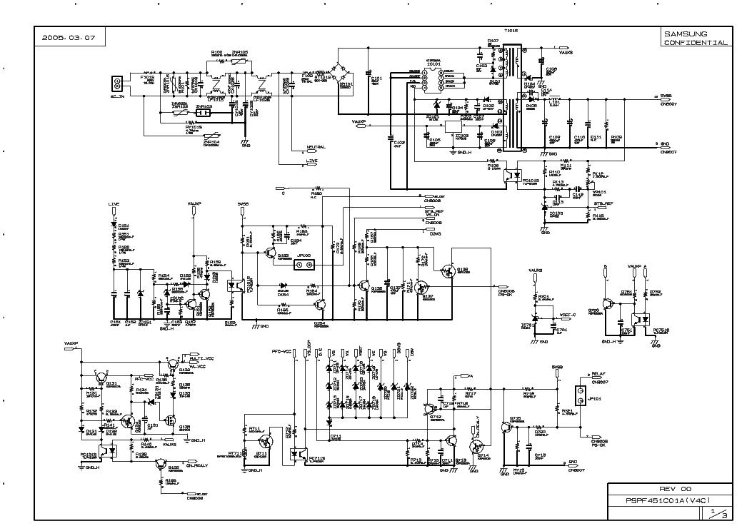 Samsung Pspf 451c01a V4c Power Sch Service Manual Download
