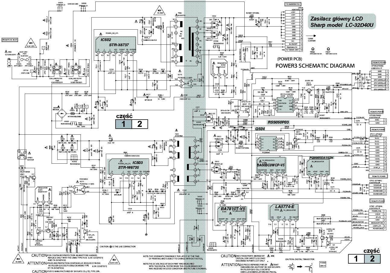 Sharp Cef171a3 Lc