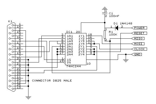 programator STK 300 na LPT
