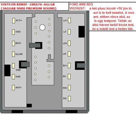 ford 4000 rds radio wiring diagram