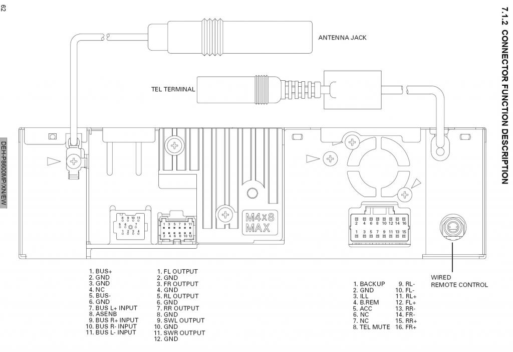 8600mp_connectors 28 [ pioneer deh p8600mp wiring diagram ] pioneer deh p7600mp pioneer deh p6800mp wiring diagram at edmiracle.co