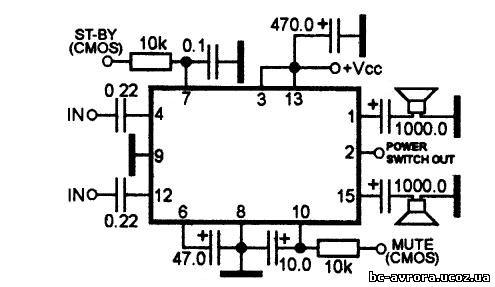tda7296 - Рабочие схемы для Вас.