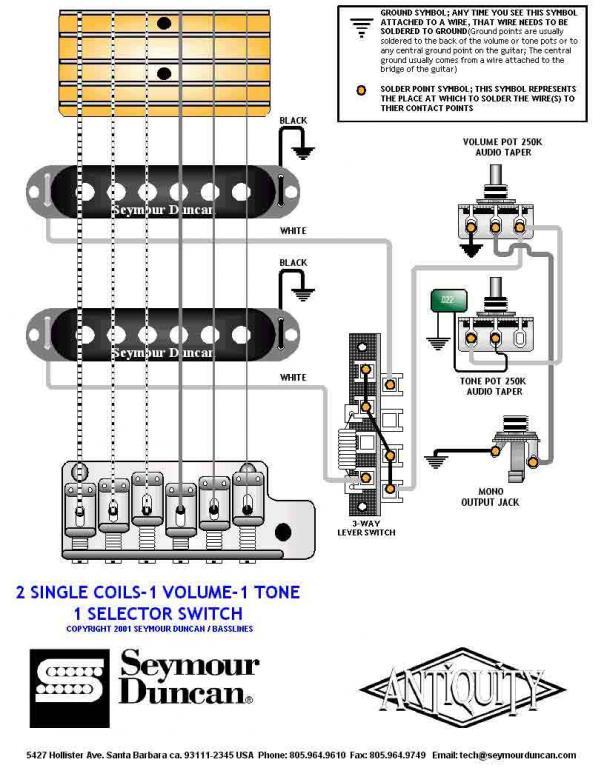 Темброблок своими руками схема для гитары