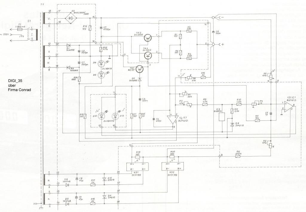 voltcraft labornetzger u00e4t digi 35 0 30v  0 2 5a elf u00f6st u00f6lt digi sm-25 service manual digi sm-25 user manual